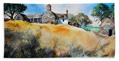 English Farmhouse Beach Towel