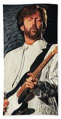 Eric Clapton Beach Towel