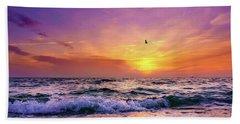 Evening Flight Beach Sheet