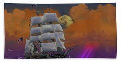 Evening Return For The Elissa Beach Towel by J Griff Griffin