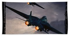 F-14 Flying Iron Beach Sheet