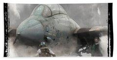 F-14 Smokin' Hot Beach Towel