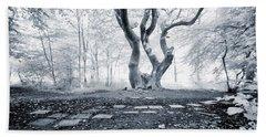 Fairy Tree Beach Towel by Keith Elliott
