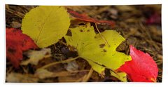 Fall In New Hampshire Beach Towel