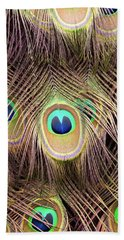Beach Towel featuring the photograph Fan Of Feathers by Joye Ardyn Durham