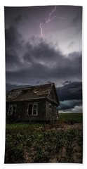 Beach Sheet featuring the photograph Fear by Aaron J Groen