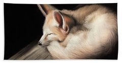 Fennec Fox Beach Towel