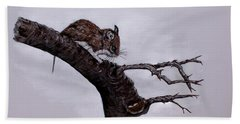 Field Mouse Beach Towel