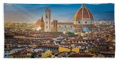 Firenze Duomo Beach Sheet