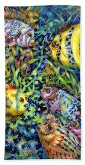 Fish Tales Iv Beach Sheet