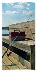 Fishin' Pole Beach Sheet