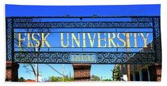 Fisk University Nashville Beach Sheet