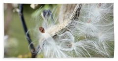 Flight Of The Milkweed Beach Towel