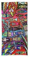 Florida Keys Reef  Beach Towel
