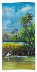 Florida Landscape Beach Towel
