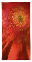 Flower Beach Towel by George Robinson