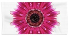 Flower Mandala  Beach Towel by Andrea Kollo