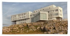 Fogo Island Inn Beach Sheet by Eunice Gibb