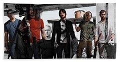 Foo Fighters Beach Towel