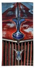 Ford V8 Beach Towel