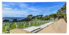 Fort Rosecrans National Cemetery Beach Towel