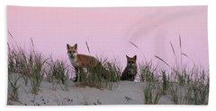 Fox And Vixen Beach Towel
