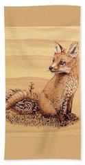 Fox Beach Sheet by Ron Haist