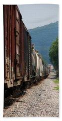 Freight Train Beach Sheet