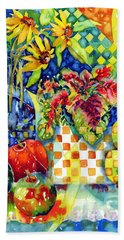 Fruit And Coleus Beach Towel