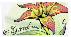Fruit Of The Spirit Series 2 Goodness Beach Towel