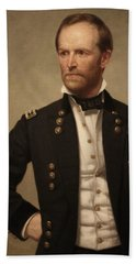 General William Tecumseh Sherman Beach Towel