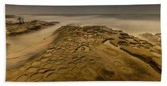 Ghost Photographer Beach Towel