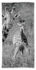 Giraffes - That's My Baby Beach Towel