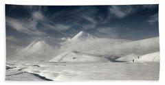 Glencoe Winter Landscape Beach Sheet