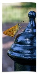 Golden Moth Beach Towel