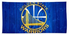 Golden State Warriors Door Beach Sheet