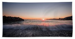 Kiss Of The Night Beach Towel