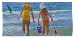 Gone Fishing  Beach Towel