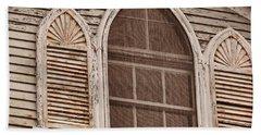 Gothic Window Beach Towel by JAMART Photography