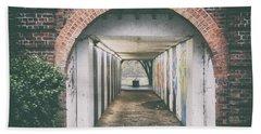 Grafitti Tunnel Beach Towel
