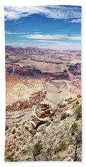 Grand Canyon View From The South Rim, Arizona Beach Sheet