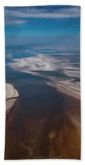 Great Salt Lake Beach Towel