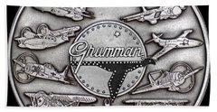 Grumman Coin Beach Towel