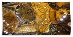 Hagia Sophia Interior Beach Towel