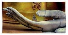 Hand Of Buddha Beach Towel