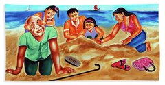 Happy Family Beach Towel