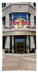 Hard Rock Cafe Beach Towel