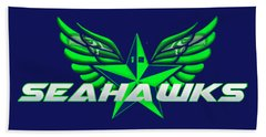 Hawks Wings Beach Towel