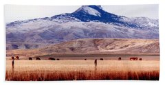 Hart Mountain - Cody,  Wyoming Beach Towel