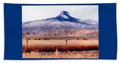 Heart Mountain - Cody,  Wyoming Beach Sheet